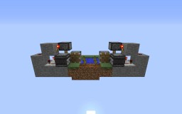Fully Automatic, Compact, Tileable Melon/Pumpkin Farm Minecraft Map & Project