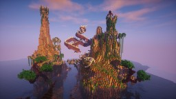 Archipelago of Dragons + TimeLapse Minecraft Project