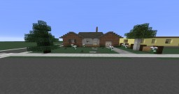 Roseburg - 1960's Ranch House Minecraft Map & Project