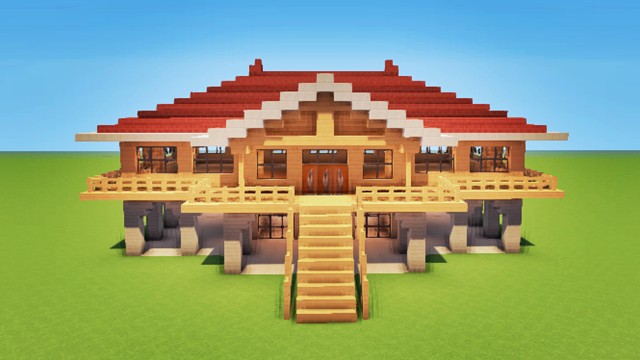 2 AWESOME HOUSES ! Minecraft Project