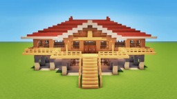 2 AWESOME HOUSES  ! Minecraft Map & Project