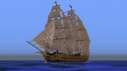 1st Rate Ship, 1700s Minecraft Map & Project