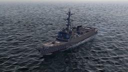Arleigh Burke Flight IIA class destroyer | USS Oscar Austin DDG-79 | Scale: 1,5:1 Minecraft