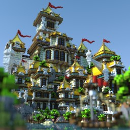 Original fantasy castle!! Minecraft Map & Project