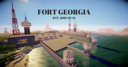 Fort Georgia Military Installation Minecraft Map & Project