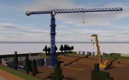 Linden Comansa 10LC140 TowerCrane Minecraft
