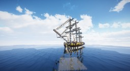 L'Hermione - French frigate Minecraft Project