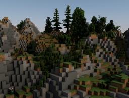 Mountain Terrain Minecraft Project