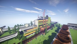 Abandoned Biochemical Factory Minecraft Map & Project