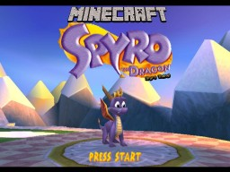 Spyro theme Minecraft Map & Project