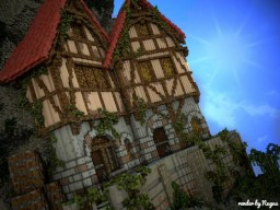 [(Medieval houses)] Minecraft Project