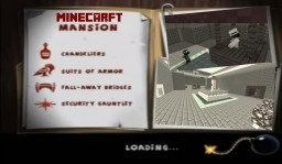 Minecraft Spy vs Spy Mansion Map Minecraft Project