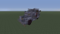 R.D.O KL-50 Overwatch Riot Control Van Minecraft Map & Project