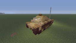 Girls und Panzer, Panzer II Ausf.F  Nishizumi family version Minecraft Map & Project