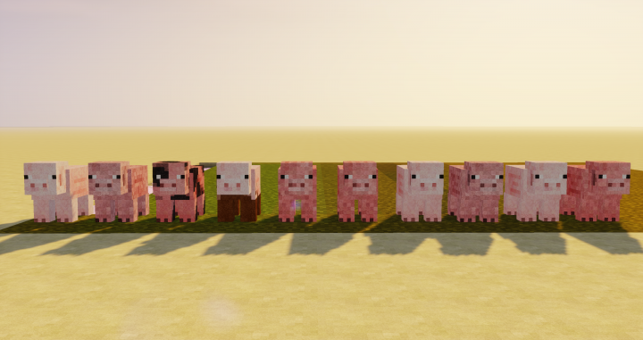 many little piggies!