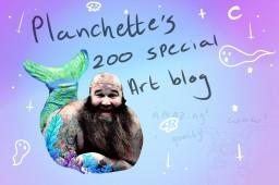 Planchette's artblog. yay. 200 subs. yyyay Minecraft Blog Post