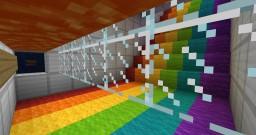 RAINBOW RUN V2! Minecraft Project