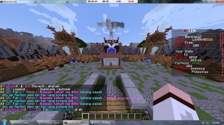 FallenCraft Customized OP Prison Minecraft Server