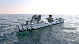 [BG-NAVY] Vitosha-class destroyer flotilia leader (1919) Minecraft Map & Project