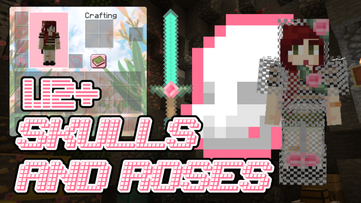 Popular Texture Pack : Skulls n' Roses - PVP Add-On Pack