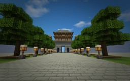Grand City Gate Minecraft Project