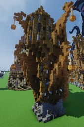 mayssaa | Steampunk house v2 Minecraft Map & Project