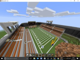 Football Stadium Minecraft Map & Project