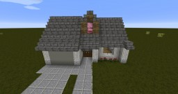Simple House with Garage Minecraft Project