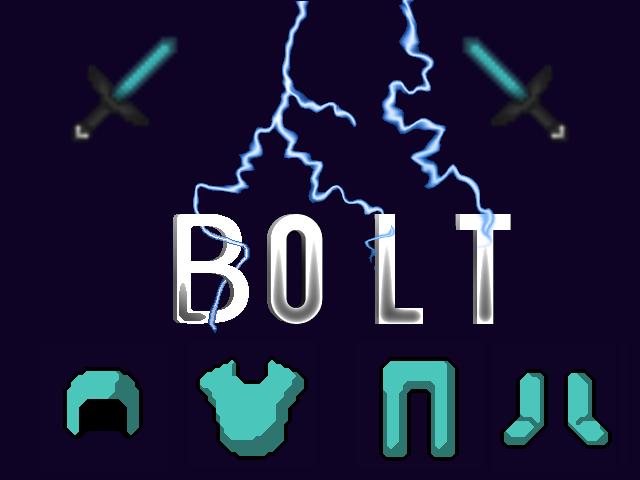 Popular Texture Pack : BOLT Pack 1.8 - 1.12