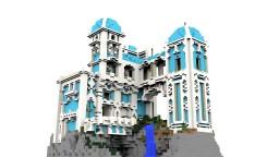 50x50 Fanasty Plot Spawn Minecraft Map & Project