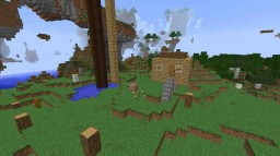 skyblock parkor world Minecraft Map & Project