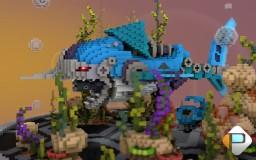 RoboShark - In waiting Update Aquatic Minecraft Map & Project