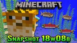 Minecraft Snapshot 18w08b | Real Fish in Minecraft Minecraft Blog