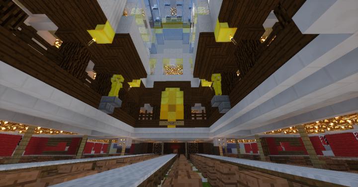 Main Skylight above dining saloon 1st Class