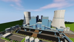 Minecraft Coal Power Plant Minecraft Project