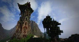 Floating Mage Tower Minecraft