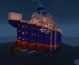 S.S. My Ship (Выдуманный) Minecraft Map & Project