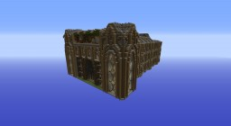Alpha Compatible Library Megabuild Minecraft Map & Project