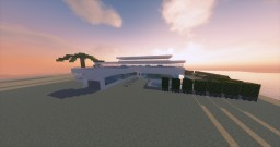 Luxury Mansion On Beach Minecraft Project