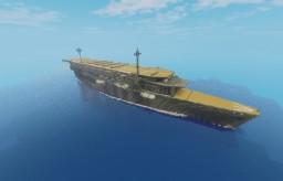 "IJN  Aircraft carrier""Kaga"" Minecraft Project"