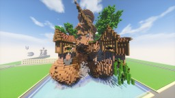 Brown Island Minecraft Map & Project