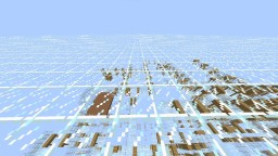 Glass core Challenge map Minecraft Project