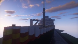 SS Portofino (Still Under Construction) Minecraft Map & Project