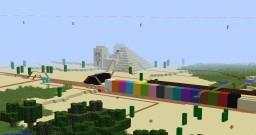 Minecraft Roller Coaster 18min Minecraft Map & Project