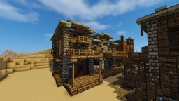 Wild Western Theatre Minecraft Map & Project