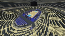 Basketball Arena in DoubleDan Town Minecraft Project