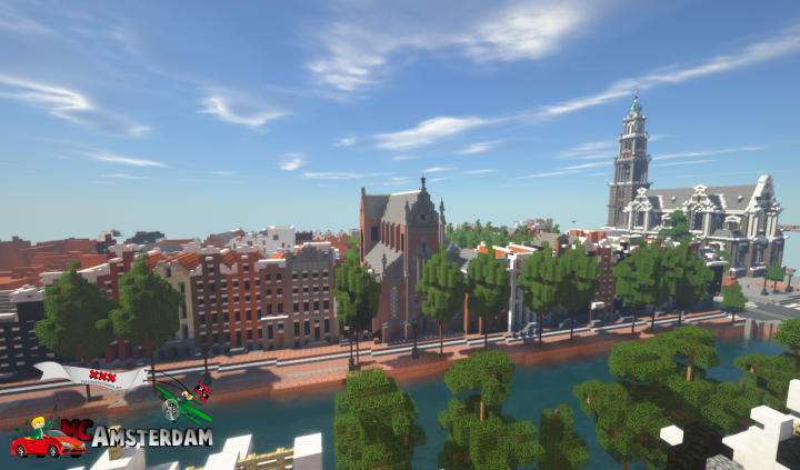 Keizersgracht with at rightside the Westerkerk