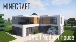 Small Modern House 5 (full interior) Minecraft Project