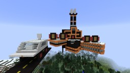 Leevi map From popular Film Back to future fan made Minecraft Project