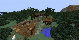 Multiplayer Survival Minecraft Map & Project